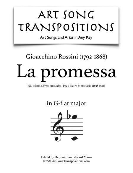 La Promessa (G-flat major)