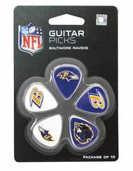 Baltimore Ravens Guitar Picks