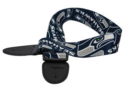 Seattle Seahawks Guitar Strap