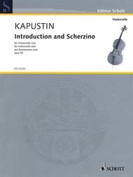 Introduction and Scherzino op.  93