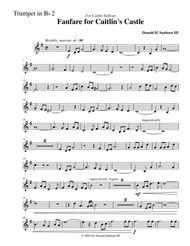 Fanfare for Caitlin's Castle--Trumpet in Bb #2