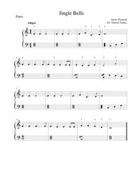 Jingle Bells - easy piano