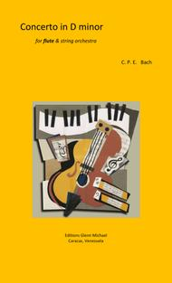 Bach, CPE Concerto for flute in D minor