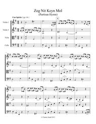 Zog Nit Keyn Mol (Holocaust survivor anthem)