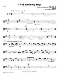 Alway Something Sings - Viola