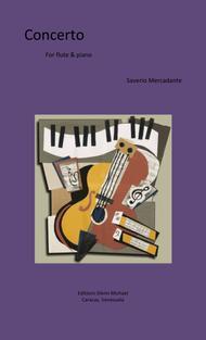Mercadante Concerto for flute in E