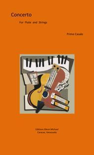 Concerto for flute & strings