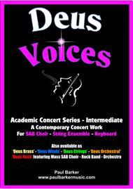 Deus Voice (Score & Parts)
