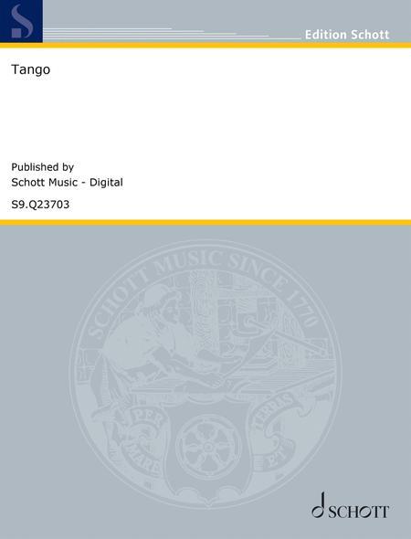 Download Tango Sheet Music By Francisco Tarrega - Sheet