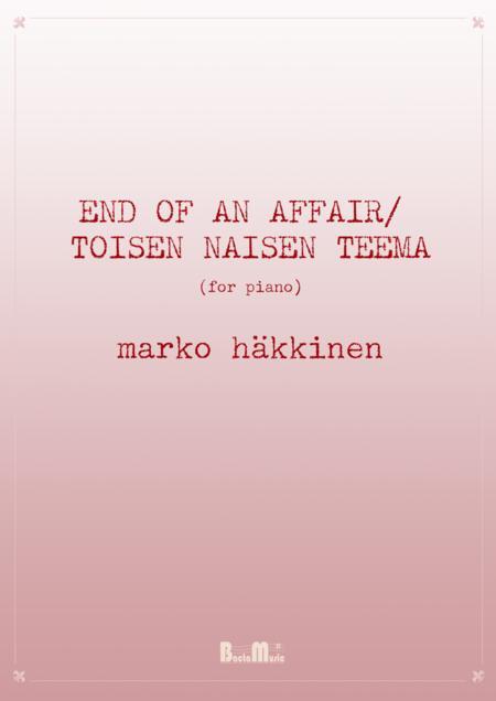 End of an Affair - Toisen naisen teema