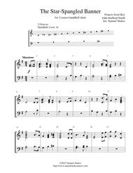 The Star-Spangled Banner - for 2-octave handbell choir