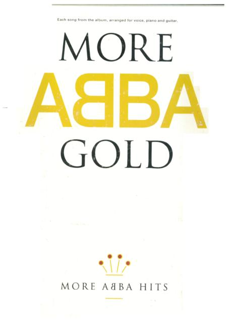 ABBA - Play Piano With... ABBA (book)