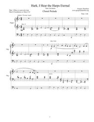 Hark, I Hear the Harps Eternal  for Organ Solo