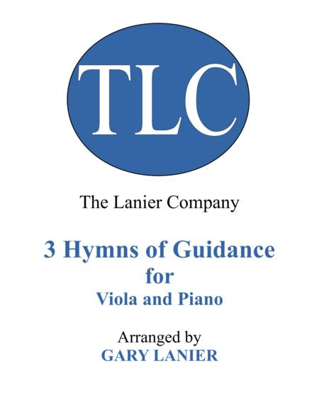 Gary Lanier: 3 HYMNS of GUIDANCE (Duets for Viola & Piano)