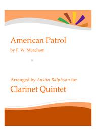American Patrol - clarinet quintet