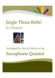 Jingle Those Bells - sax quintet