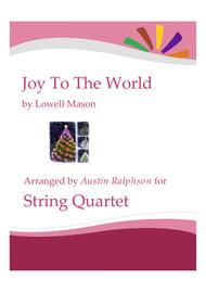 Joy To the World - string quartet