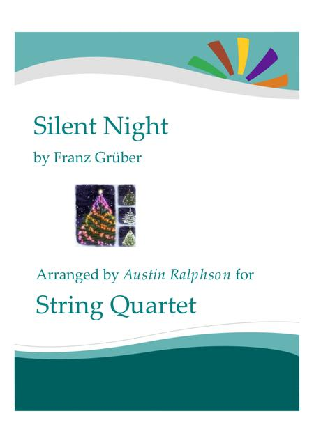 Silent Night - string quartet