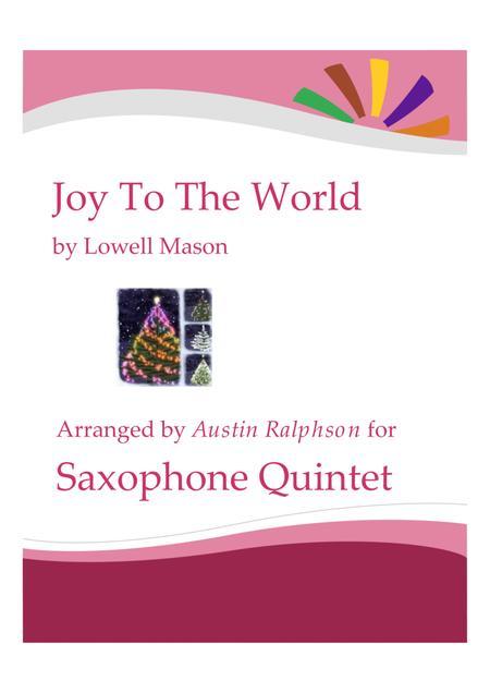Joy To the World - sax quintet