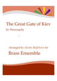 The Great Gate of Kiev from 'Pictures' - brass ensemble