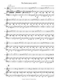 The Saints (Jazzy Style!) for Oboe and Piano