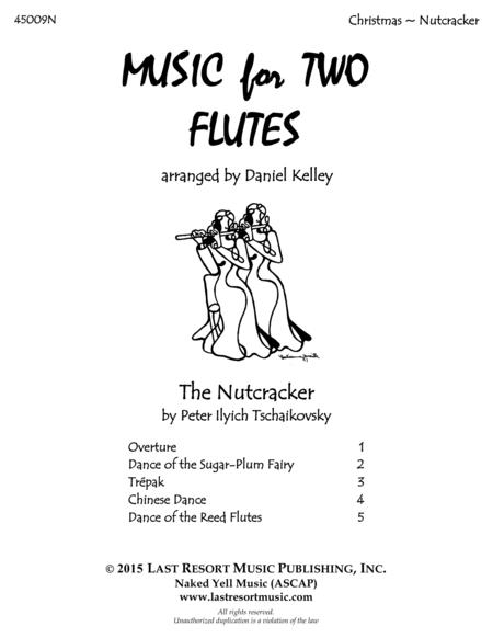 The Nutcracker for Flute Duet - Music for Two Flutes