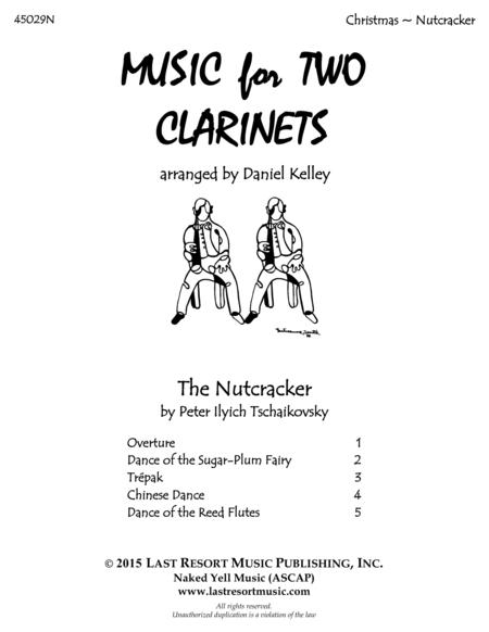 The Nutcracker for Clarinet Duet - Music for Two Clarinets