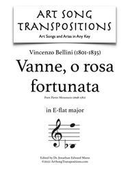 Vanne, o rosa fortunata (E-flat major)
