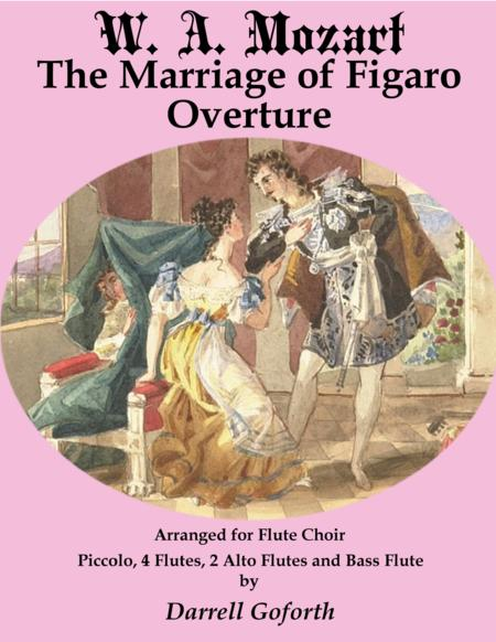 The Mariage of Figaro for Flute Choir 1: Overture