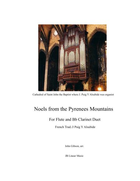 Noels from the Pyrenees Mountains - flute and clarinet