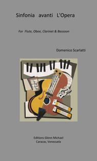 Sinfonia avanti l 'Opera for woodwind quartet