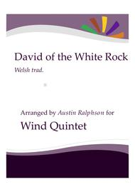 David of the White Rock - wind quintet