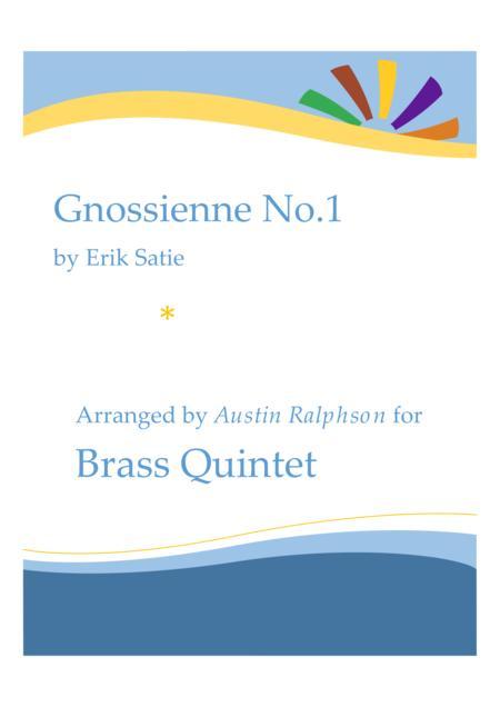 Gnossienne No.1 - brass quintet