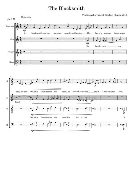 Wild Mountain Thyme Satb By Traditional Digital Sheet Music For Sheet Music Single Download Print S0 82105 Sheet Music Plus