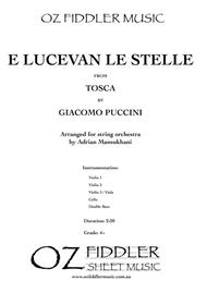 E Lucevan le stelle, from Tosca, by Giacomo Puccini, arranged for String Orchestra by Adrian Mansukhani