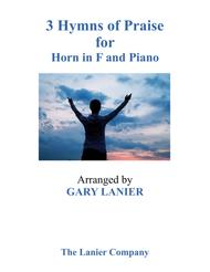 Gary Lanier: 3 HYMNS of PRAISE (Duets for French Horn & Piano)