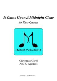 It Came Upon A Midnight Clear - Traditional and Jazz Arrangements for Flute Quartet