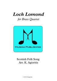 Loch Lomond - for Brass Quartet