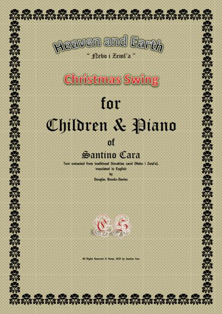 Heaven and Earth - Christmas swing for children and piano