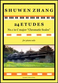 24 Etudes-No.1 in C major-'Chromatic Scales'
