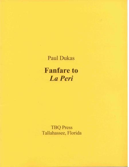 Fanfare to La Peri