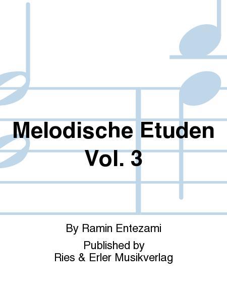 Melodische Etuden Vol. 3