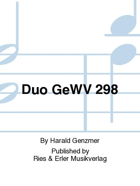Duo GeWV 298