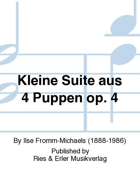 Kleine Suite aus 4 Puppen op. 4