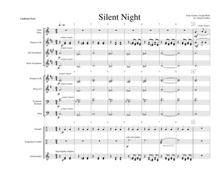 Silent Night - for early intermediate band