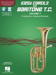Easy Carols for Baritone T.C. - Vol. 1