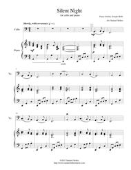 Silent Night - for cello and piano