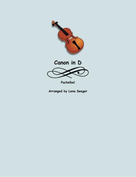 Canon in D (unaccompanied viola)