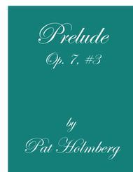 Prelude, Op. 7 #3