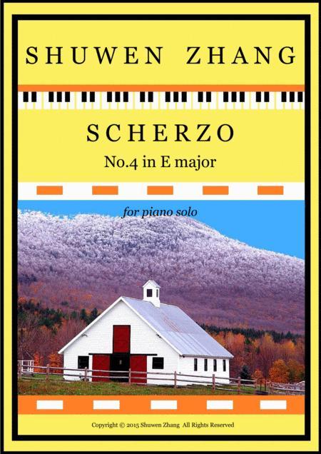 Scherzo No.4 in E major
